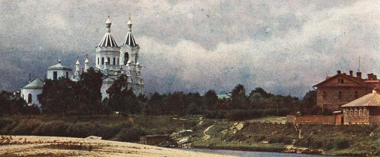 старинный город Луга