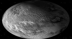 Хаумеа – карликовая планета пояса Койпера