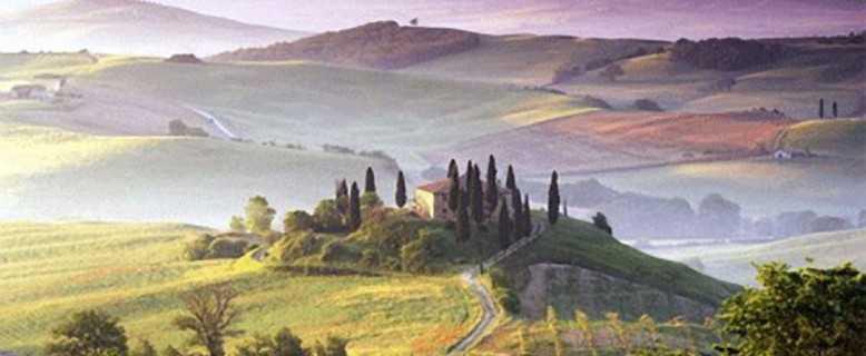 пейзажи Тасканы