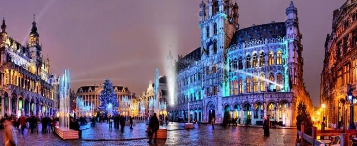 путешествие в Брюссель