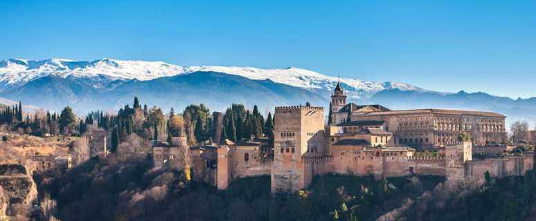 Граната в Испании