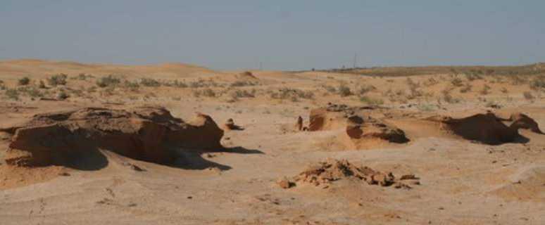 геоглифы пустыни Сарыесик