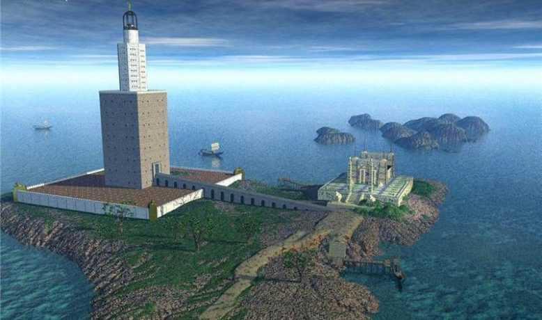 александрийский маяк чудо