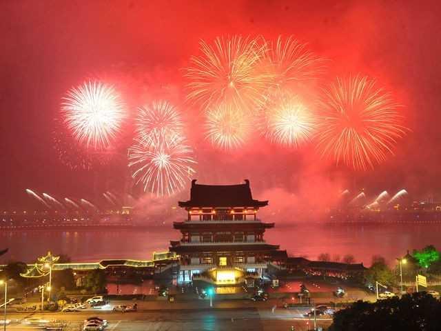 Как встречают Новый год в Азии