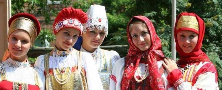 славянские головные уборы