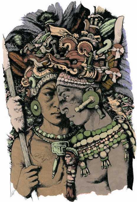 Два брата оказались по разные стороны баррикад в затяжном конфликте между городами Тикаль и Калакмуль. В кровавом бою один убил другого. Начиналось новое время — эпоха жестокости, насилия, братоубийств.