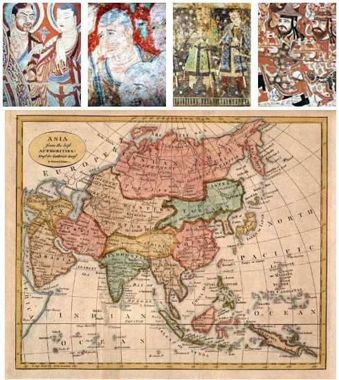 Наскальные росписи буддийского монастыря в Безеклике