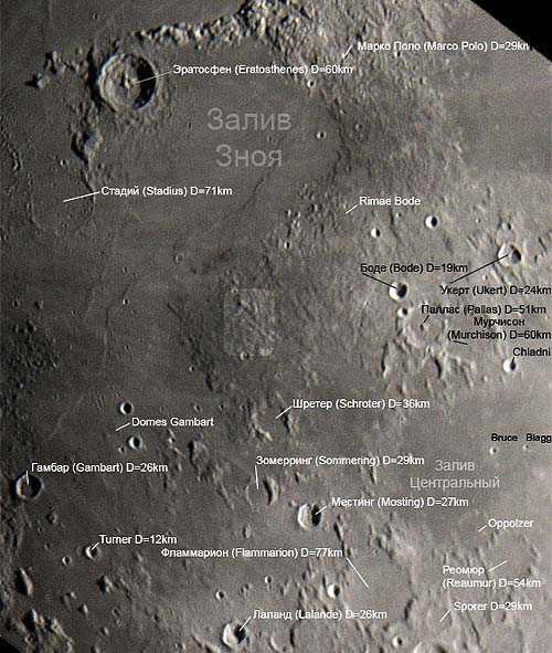город Груйтуйзен на Луне