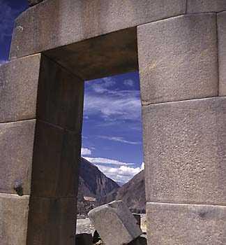 Рис. 9. Кладка Храма 10 Ниш (дверной проем).
