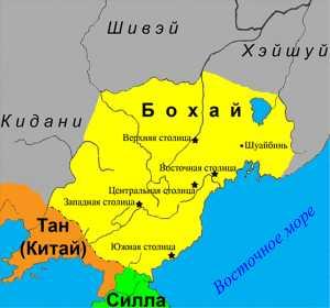 карта, Бохай