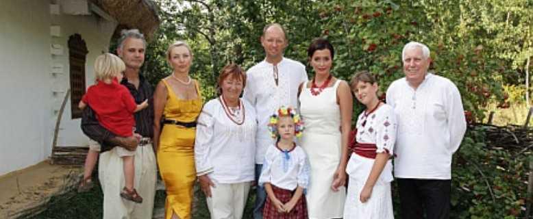 семья Яценюка