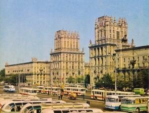 город Минск архитектура