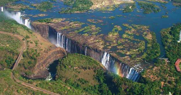 Виктория водопад