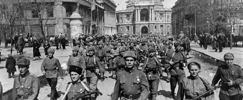освобождение Одессы в 1944 году