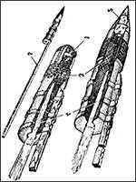 Ракеты разработки Александра Дмитриевича Засядько