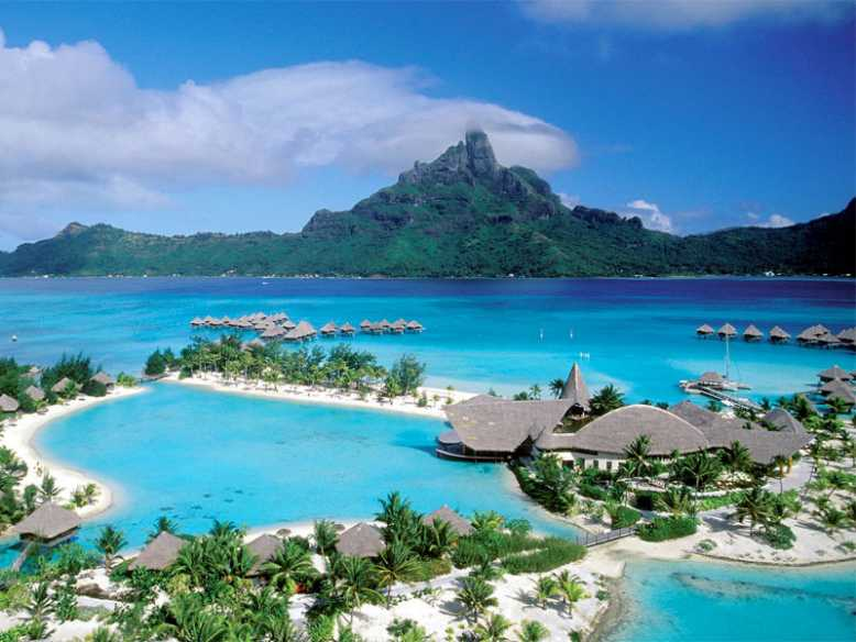 коралловые острова Полинезии