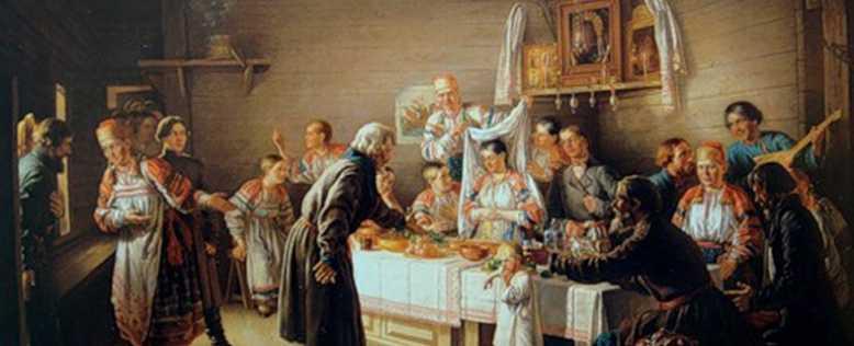 Сватовство - обряд наших предков