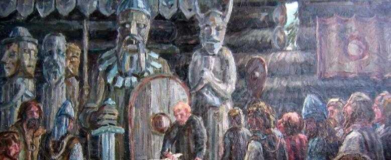 древние славяне и их храмы