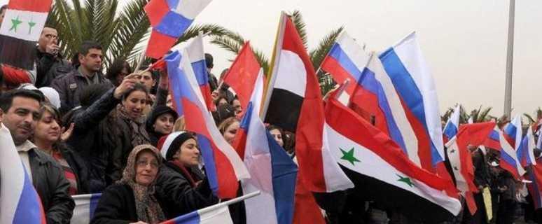 русские за Сирию