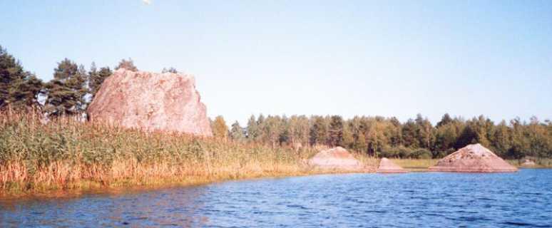 пирамиды Ладожского озера