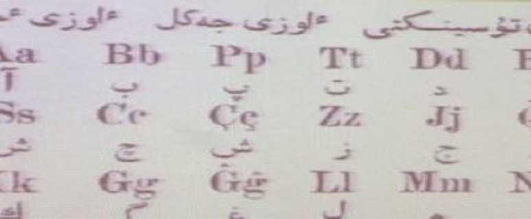замена алфавита