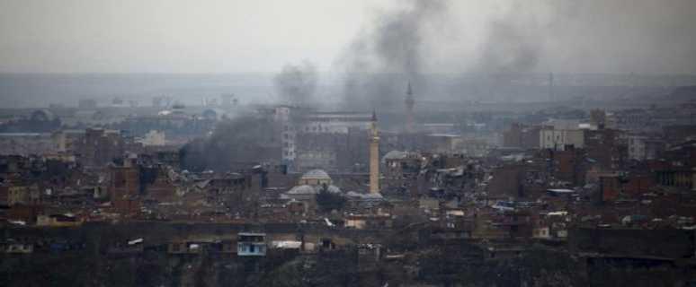 обстрел турками в Сирии