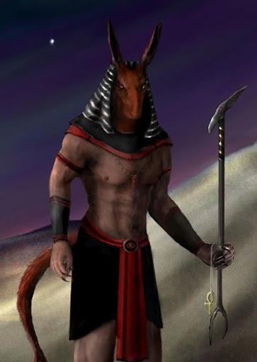Древнеегипетский Бог Сет 3