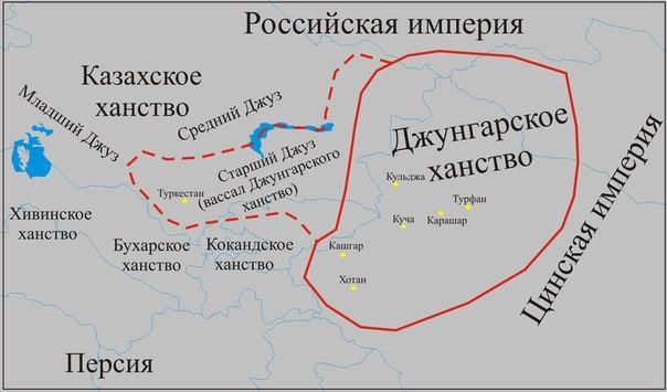 Заселение Сибири в 17-18 веках 5