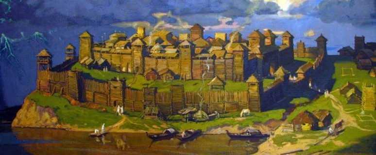 древние города в Прикамье