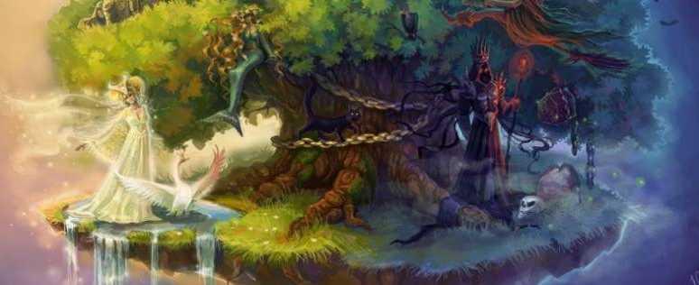 у Лукоморья дуб растет