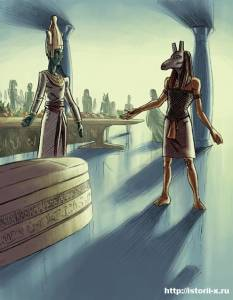 Древнеегипетский Бог Сет 1