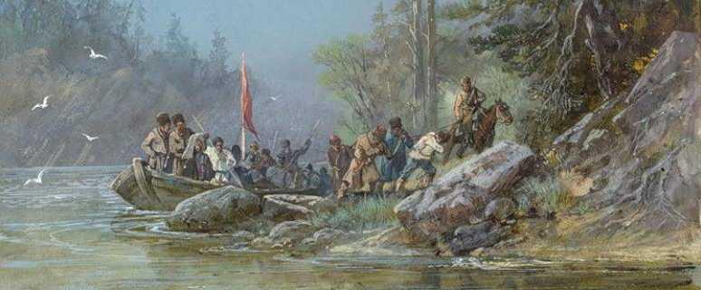 заселение сибири началось