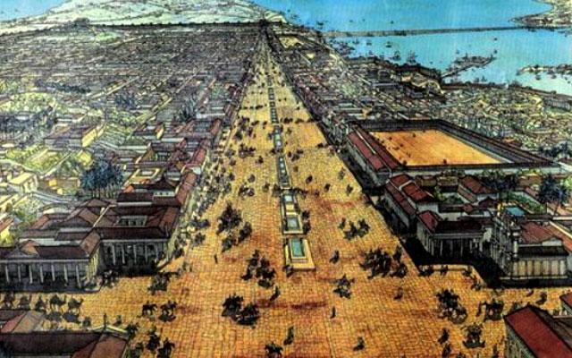 Александрийская библиотека 1