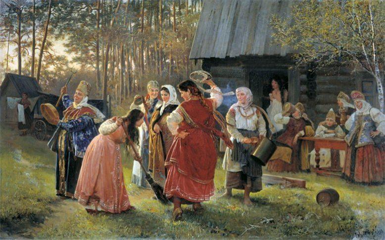 Славянский праздник в день 1 Мая. Живин день 2