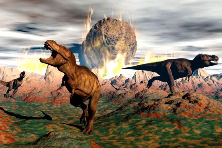 Падение чиксулубского метеорита или 65 млн.лет назад 3