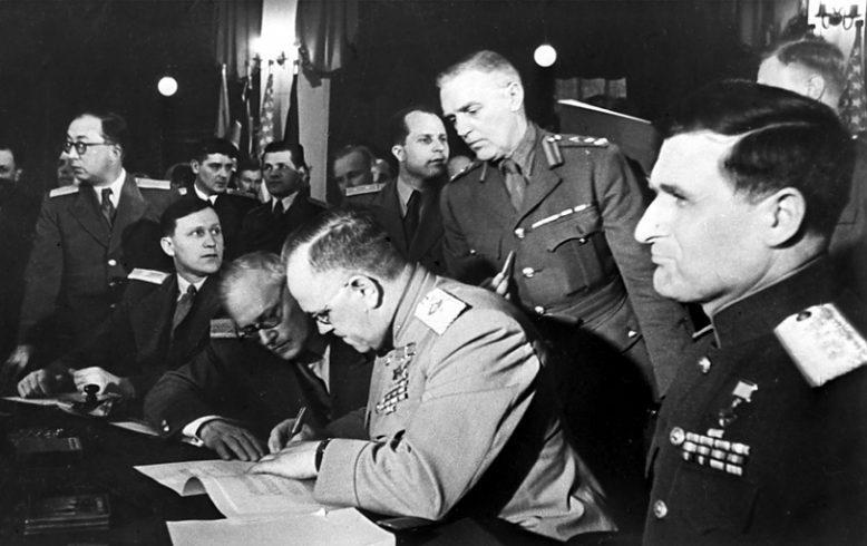 В мае 1945 Германия капитулировала дважды 2