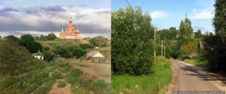 Фото - Россия сейчас и век назад 7