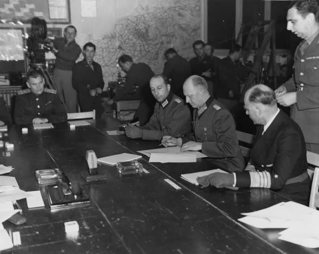 В мае 1945 Германия капитулировала дважды 1