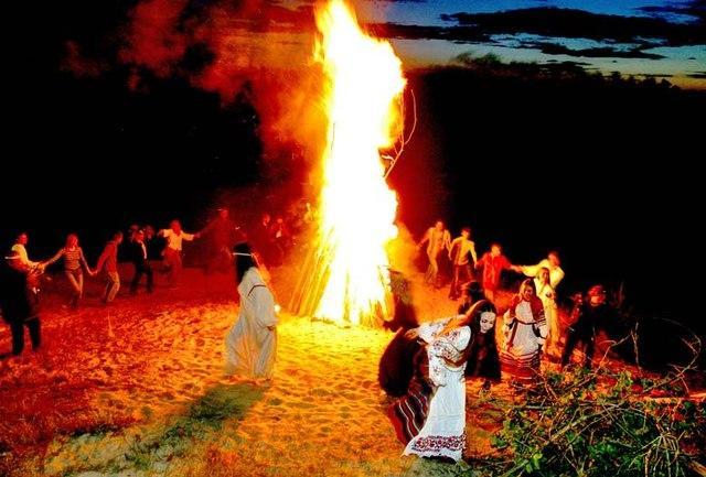 Славянские обряды. Купальская ночь 1