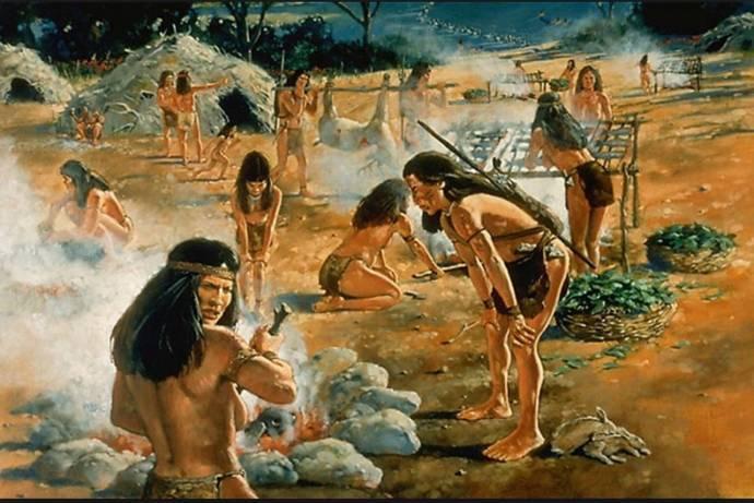 Кто заселял Америку или многонациональные индейцы 1