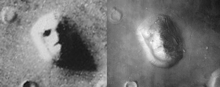 На Марсе водятся всякие странности и возможно даже призраки? 1