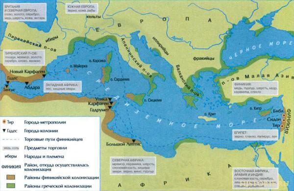 Финикия - древняя морская держава 1
