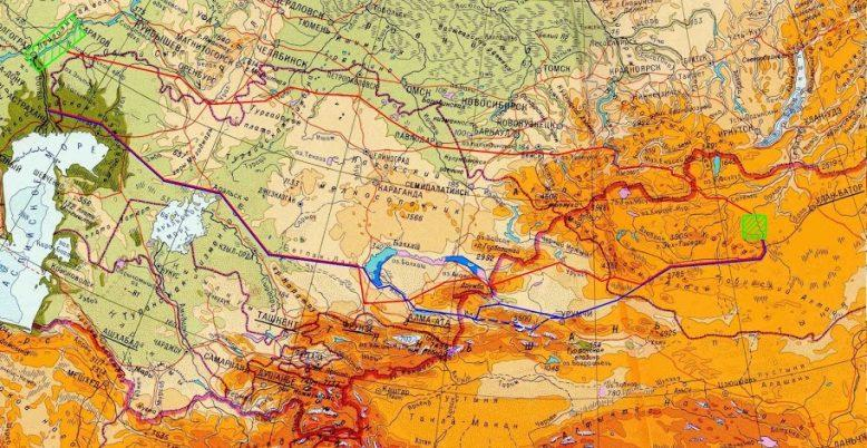 Каракорум - столица великого Чингисхана 1
