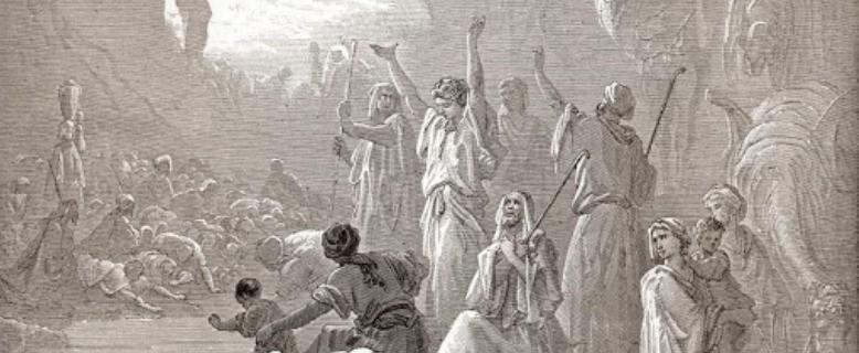 сколько евреев ушло из Египта