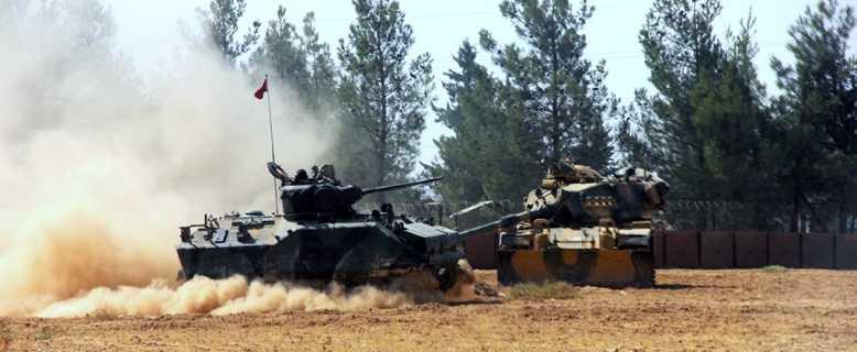 Турецкая армия в Сирии