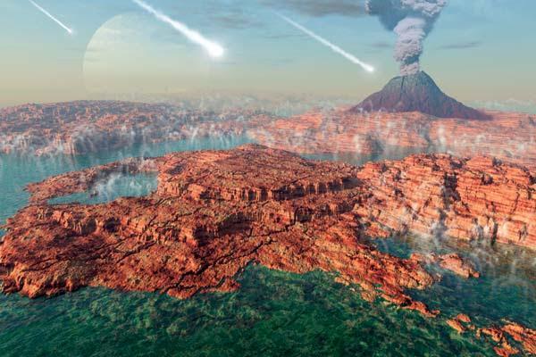 Раннее инопланетное заселение Земли 1