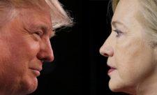 выборы Трамп или Клинтон