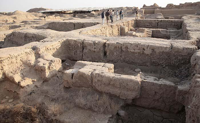 шумерская цивилизация следы