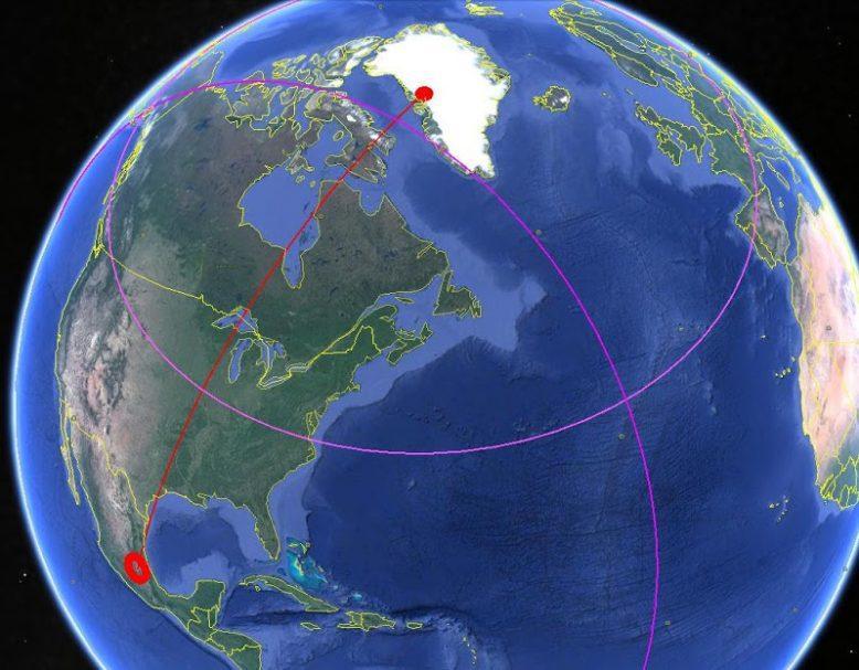 Где была Атлантида. Еще один способ определения координат 6