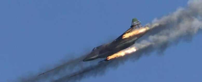 Удары ВКС в провинциях Идлиб и Хомс